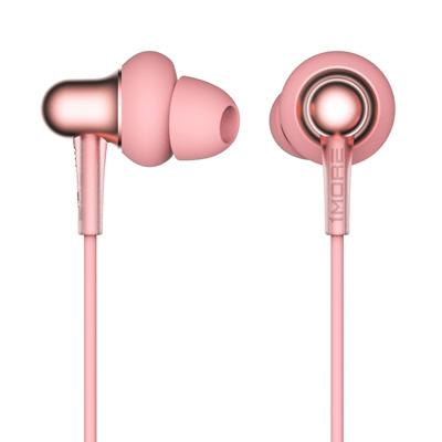 1MORE Stylish 双动圈入耳式耳机(粉)